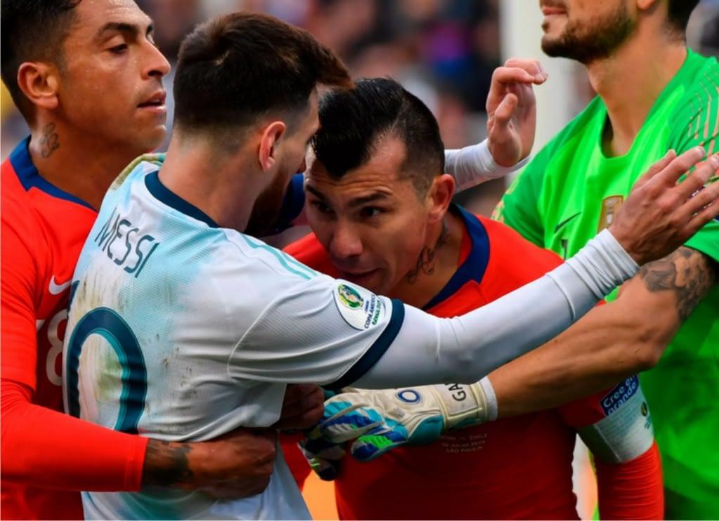 Dua Kapten Messi dan Medel berjibaku di Copa America 2019