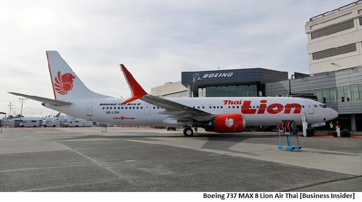Boeing 737 MAX 8 Lion Air Thai [Business Insider]