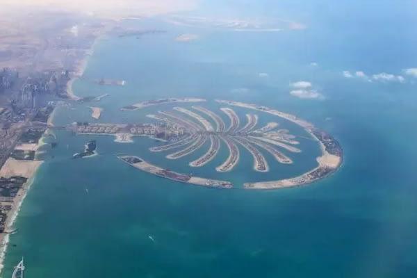 Pulau Palem di Dubai