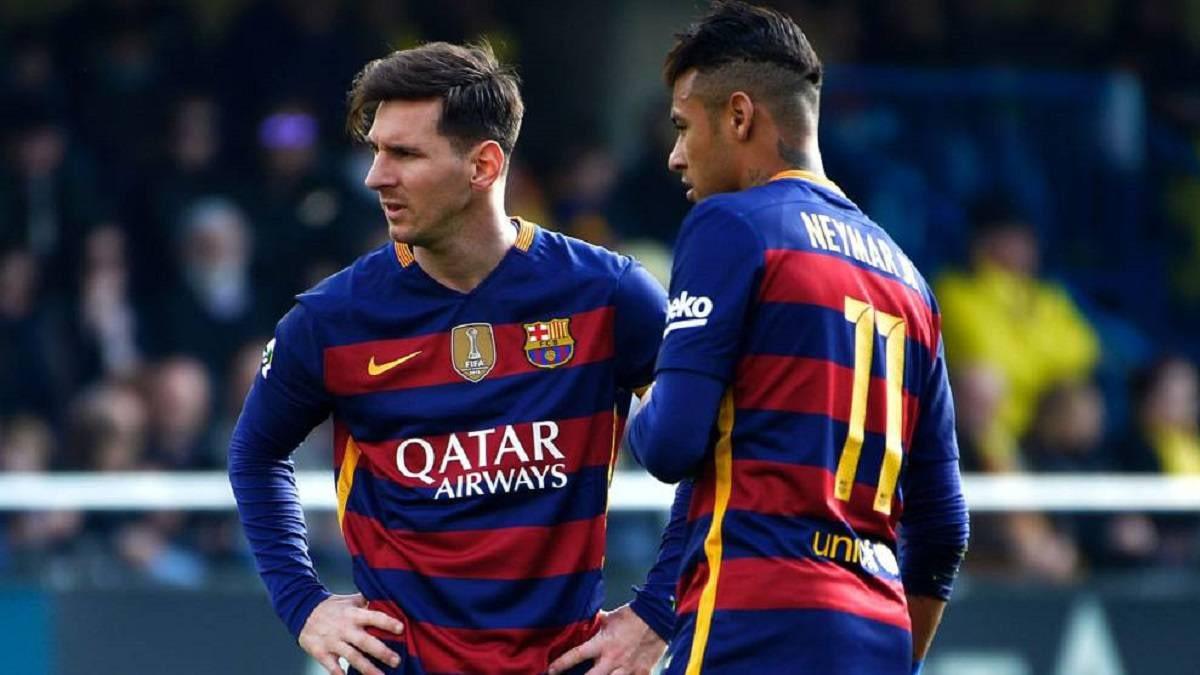 Messi dan Neymar di Barcelona